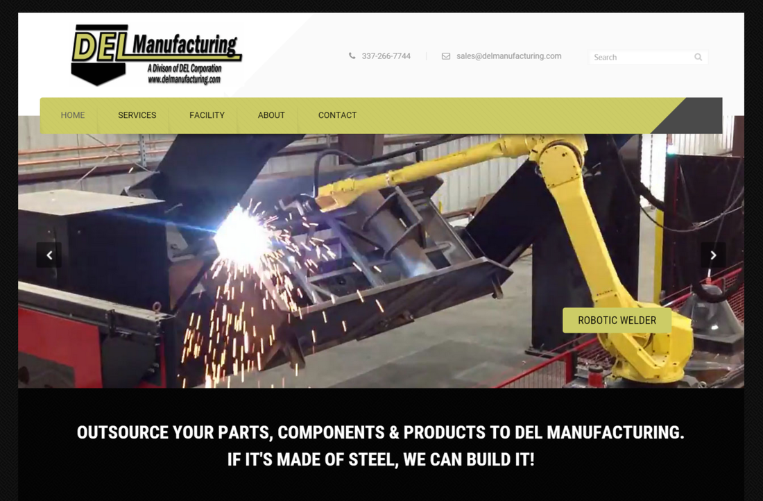 DEL Manufacturing Screen Shot